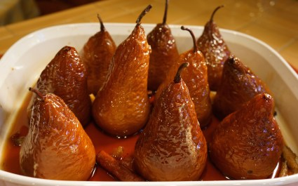 These Crinkled Pears were the gluten free dessert option, but EVERY guest made sure to grab a taste.