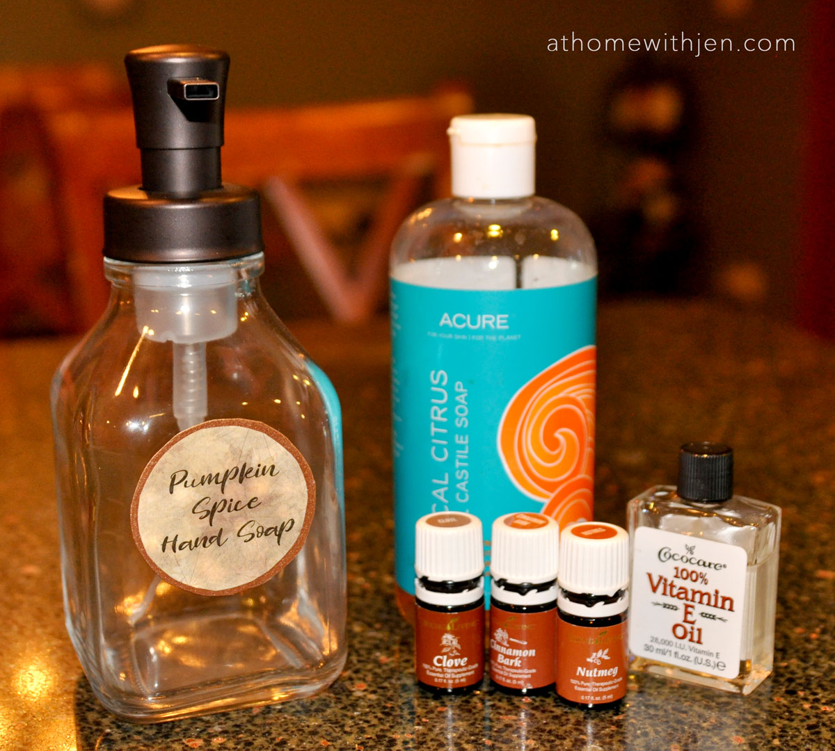 Diy Soap Essential Oils Diy Easy Pumpkin Spice Foaming Hand Soap At Home With Jen
