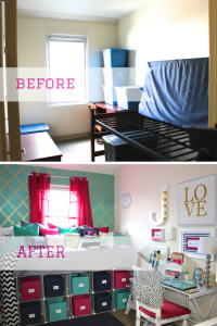 College Dorm Room Tour & Organization   At Home With Nikki