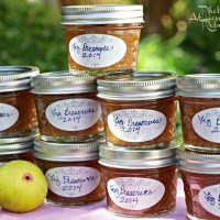 Canning Fig Preserves with ROOT 80 Proof Spirits