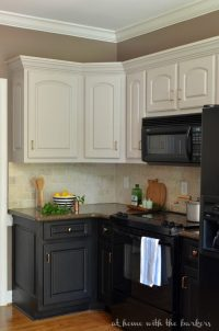 Black Kitchen Cabinets The Ugly Truth - At Home with The ...