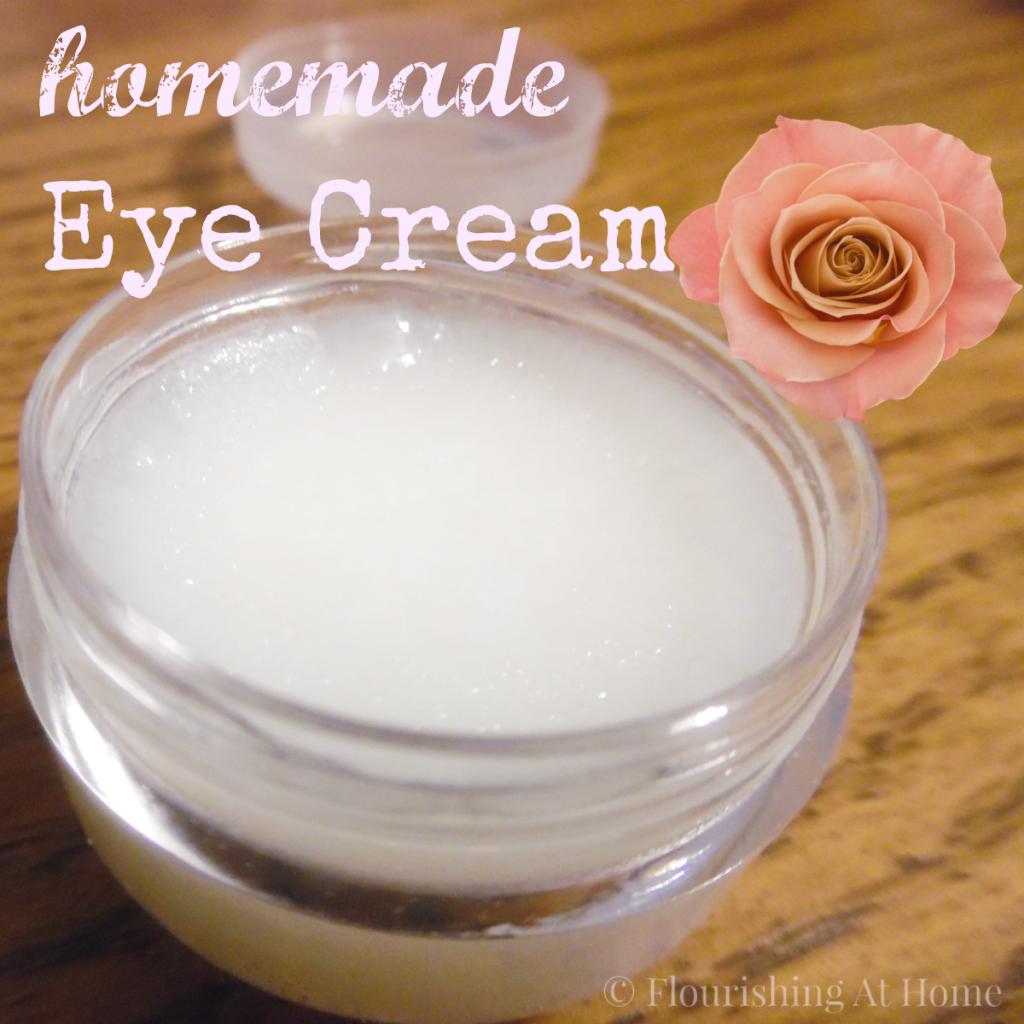 Homemade Eye Cream