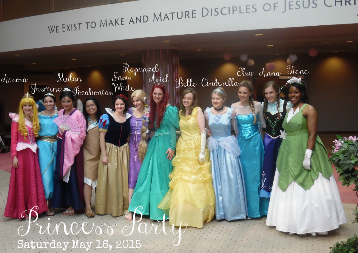 Disney Princess Party 2015