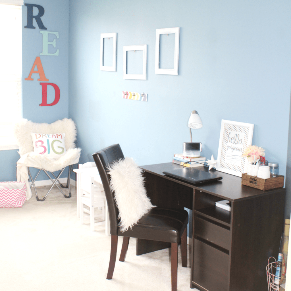 Organized Kids Playroom and Multi-Functional Room