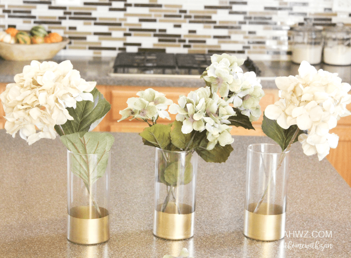 Gold dipped vases at home with zan gold dipped vases reviewsmspy