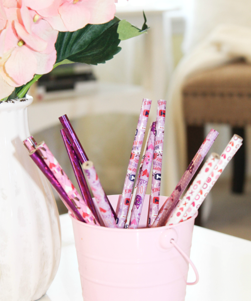 Valentines Day Printables and Pencils