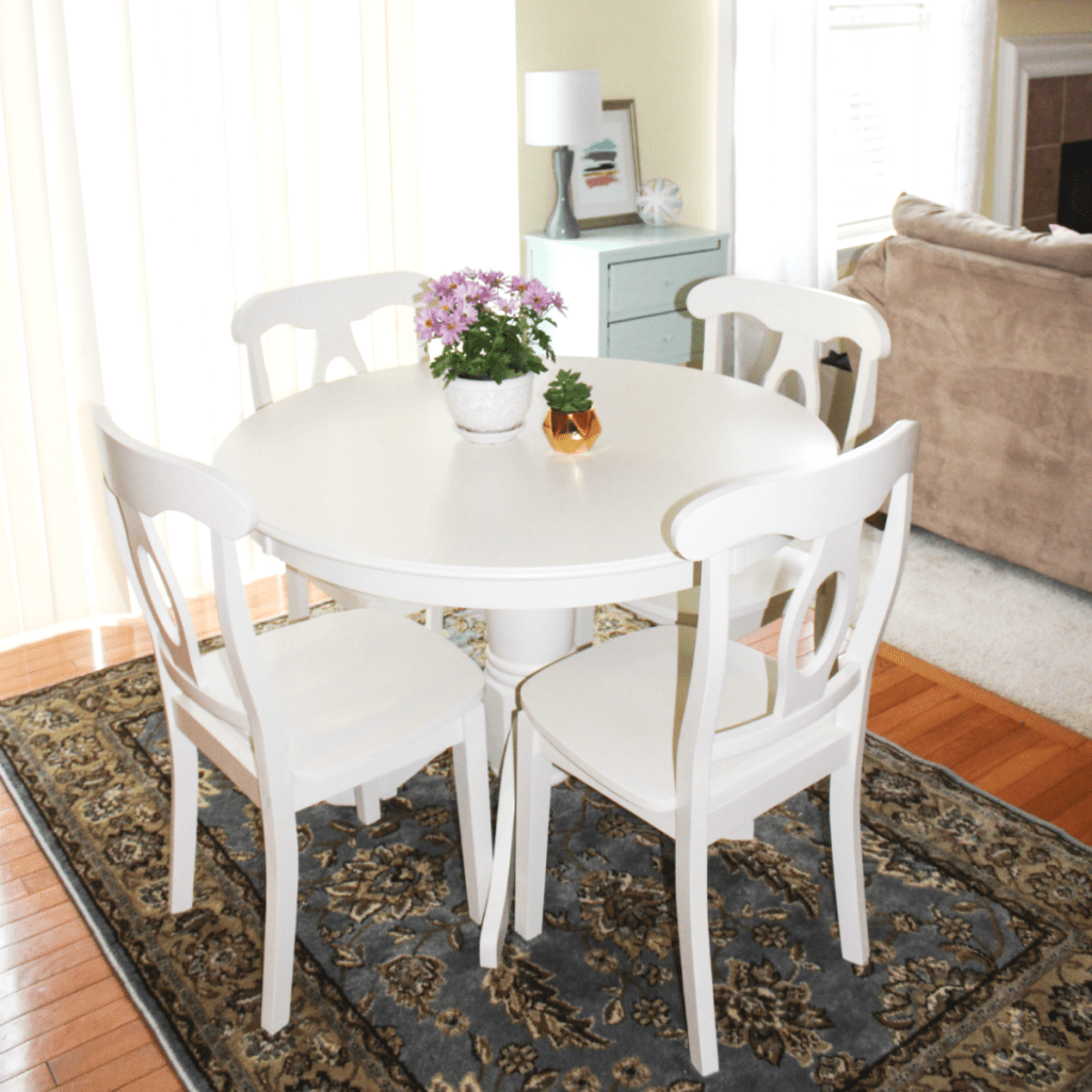 Breakfast Nook Reveal - Table and Chairs