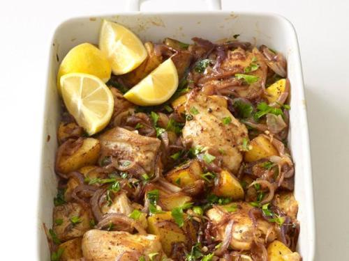FNM_030112-WNDinners-048_s4x3.jpg.rend.hgtvcom.616.462 Spanish Chicken and Potato Roast Food Network