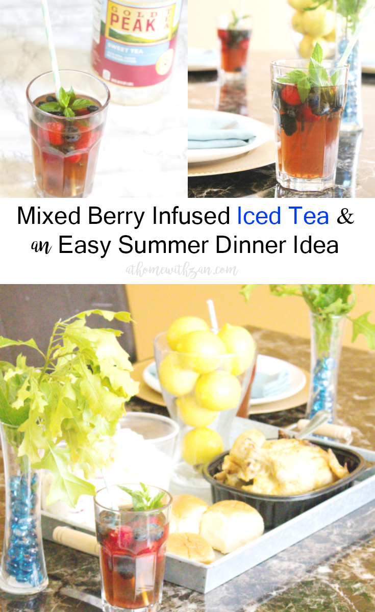 Easy Summer Dinner Ideas Plus Mixed Berry Infused Iced Tea ...