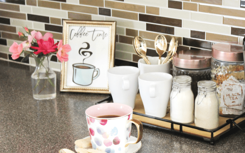 How to Create a Small Coffee Station at Home