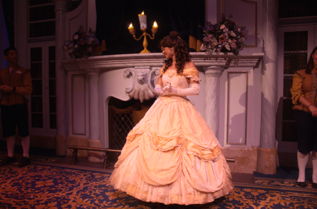 Orlando Vacation - Disney's Magic Kingdom - Princess Belle - At Home With Zan-