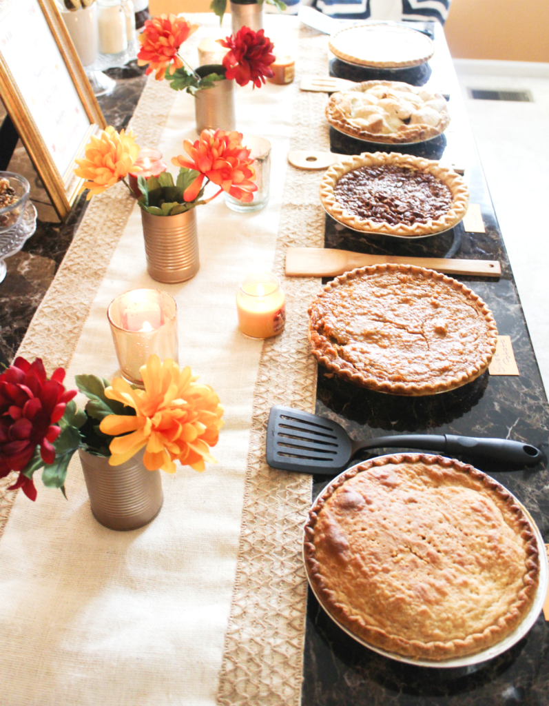 Pie Party - At Home With Zan