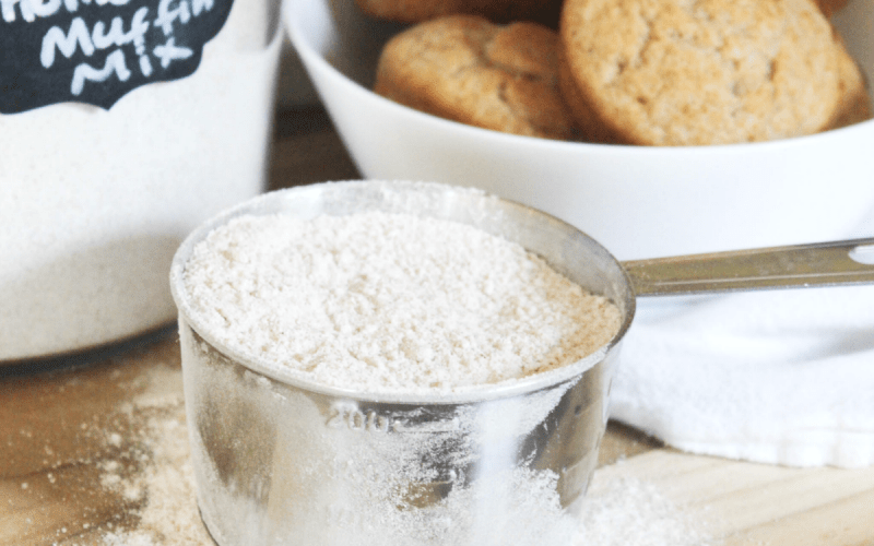 Homemade Muffin Mix – Using Healthier Ingredients