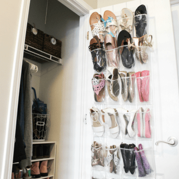 Shoe Closet Organizatio - Feature - At Home With Zan