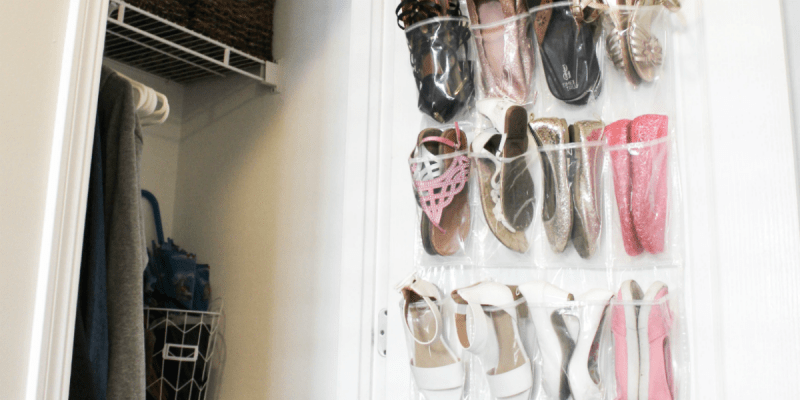 Shoe Closet Organizatio - Feature - At Home With Zan