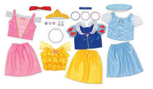 Dress Up Clothing - Girls - Holiday Gifts for Kids 3-5 - At Home With Zan