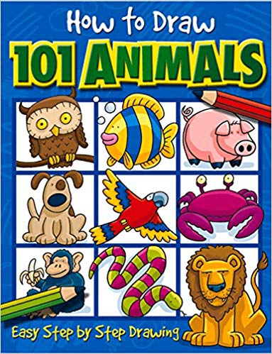 How to Draw Animals - Holiday Gift Guide for Girls 6-8 Years Old - At Home With Zan