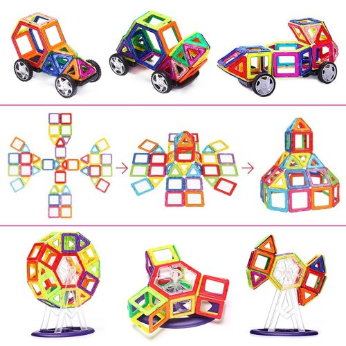 IMDEM Magnetic Blocks - Holiday Gift Guide - Holiday Gifts for 3-5 Years Old - At Home With Zan