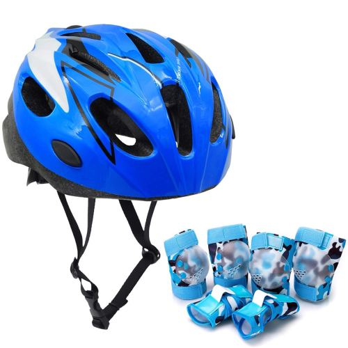Kids Helmet and Protective Riding Gear -Boys - Holiday Gift Guide - Holiday Gifts for 3-5 Years Old - At Home With Zan