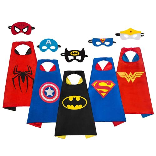 Super Hero Capes - Holiday Gift Guide - Holiday Gifts for 3-5 Years Old - At Home With Zan