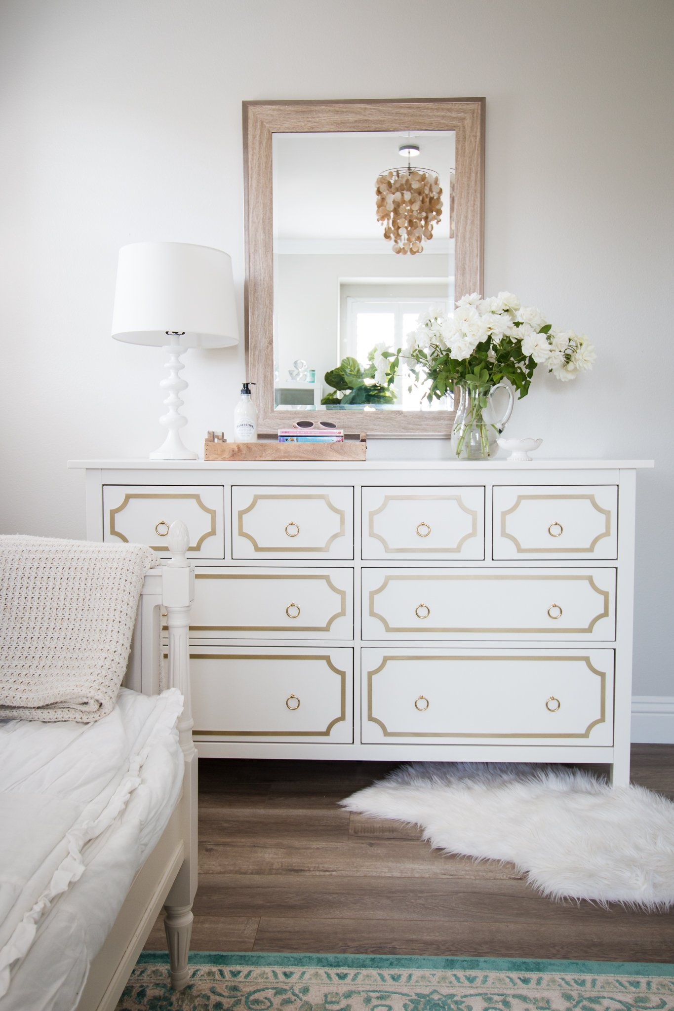 Ikea Hacks Hemnes Gold Glam Ikea Hack A Thoughtful Place