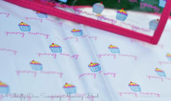 yummy mummy diaper changing mat wet bag