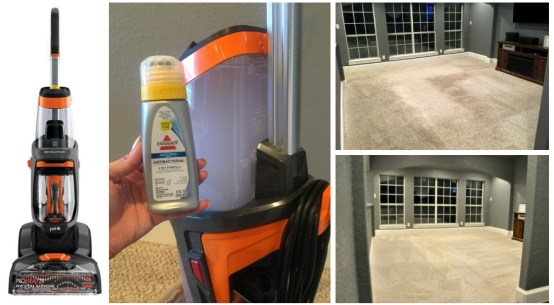 BISSELL ProHeat 2X Revolution Pet Carpet Cleaner Review before and after