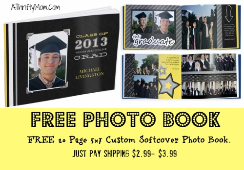 FREE 20 PAGE PHOTO BOOK ~ JUST PAY $299 SHIPPING - A Thrifty Mom