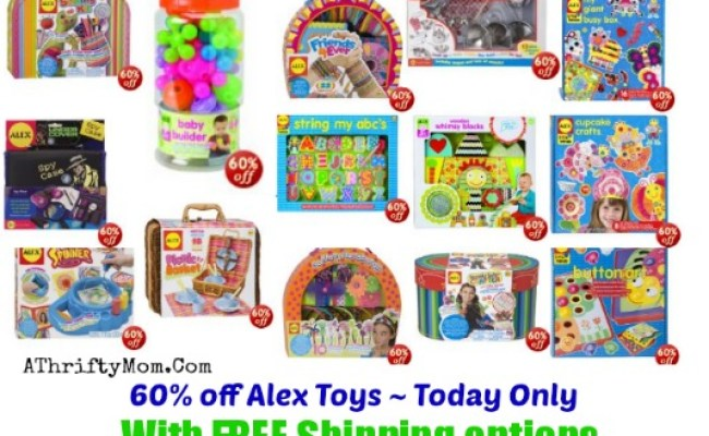 60 Off Alex Toys Today Only And Free Shipping Options