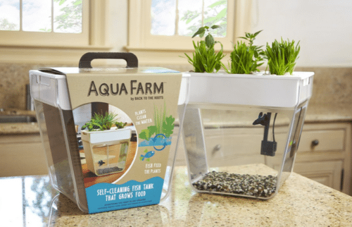 Aquafarm Self Cleaning Fish Tank That Grows Food