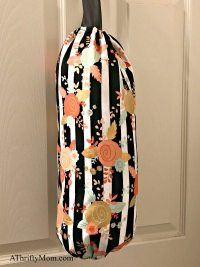 finished diy plastic bag holder - A Thrifty Mom - Recipes ...