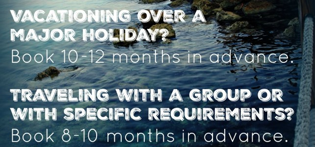 When should you book your vacation?