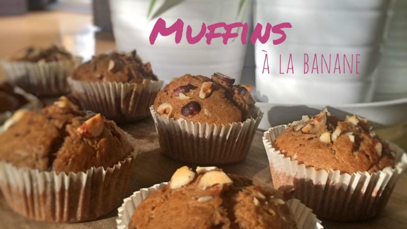muffins à la banane vegan