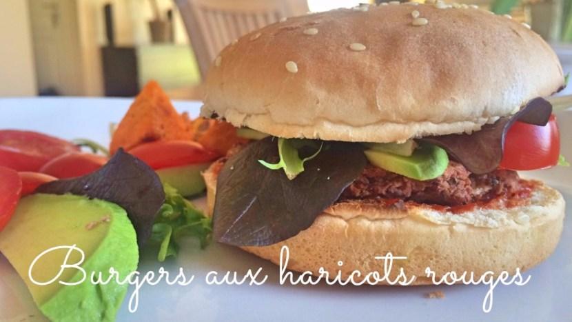 Burger aux haricots rouges - recettes végétariennes - a tire larigot