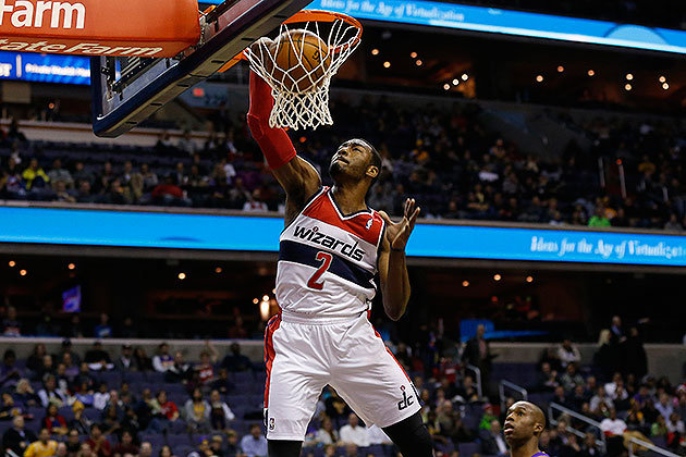 Los Angeles Lakers Wallpaper Hd Wizards John Wall Thrills With 360 Dunk Against The Lakers