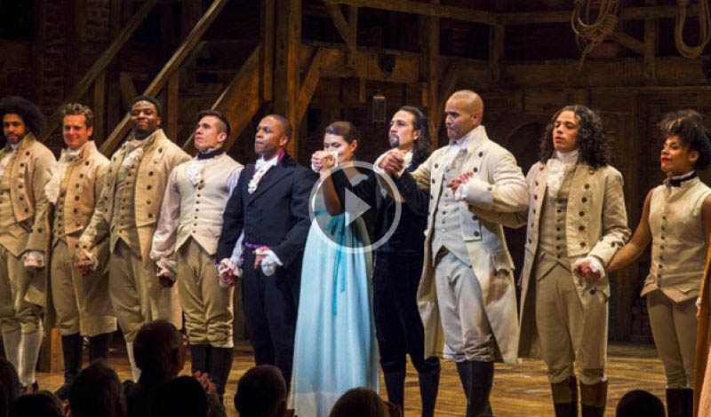 Hamilton Musical Quotes Wallpaper Broadway Hit Hamilton Has Multi Cultural Cast But Still