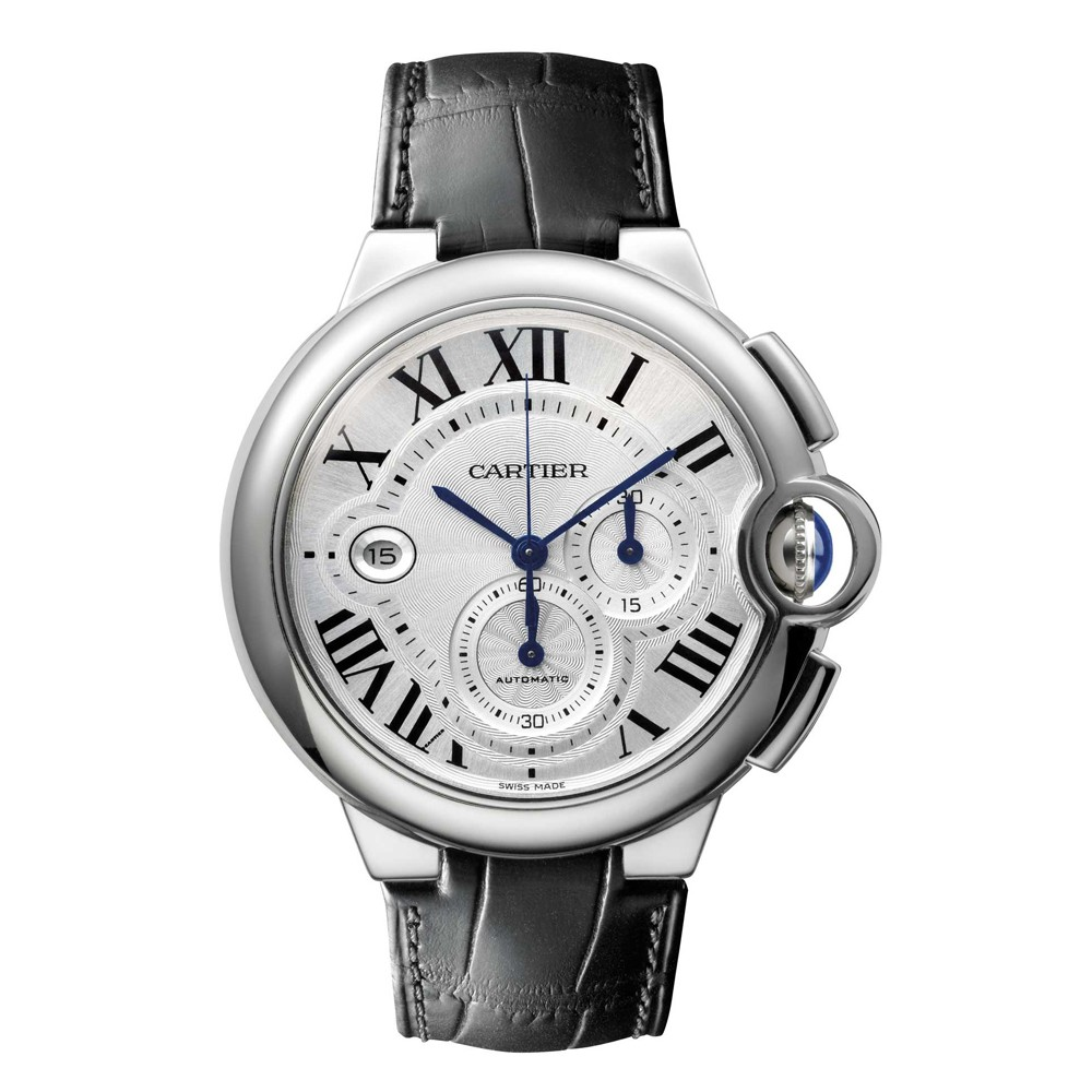 Cartier Watches Cartier Watches Ballon Bleu 44mm Stainless Steel