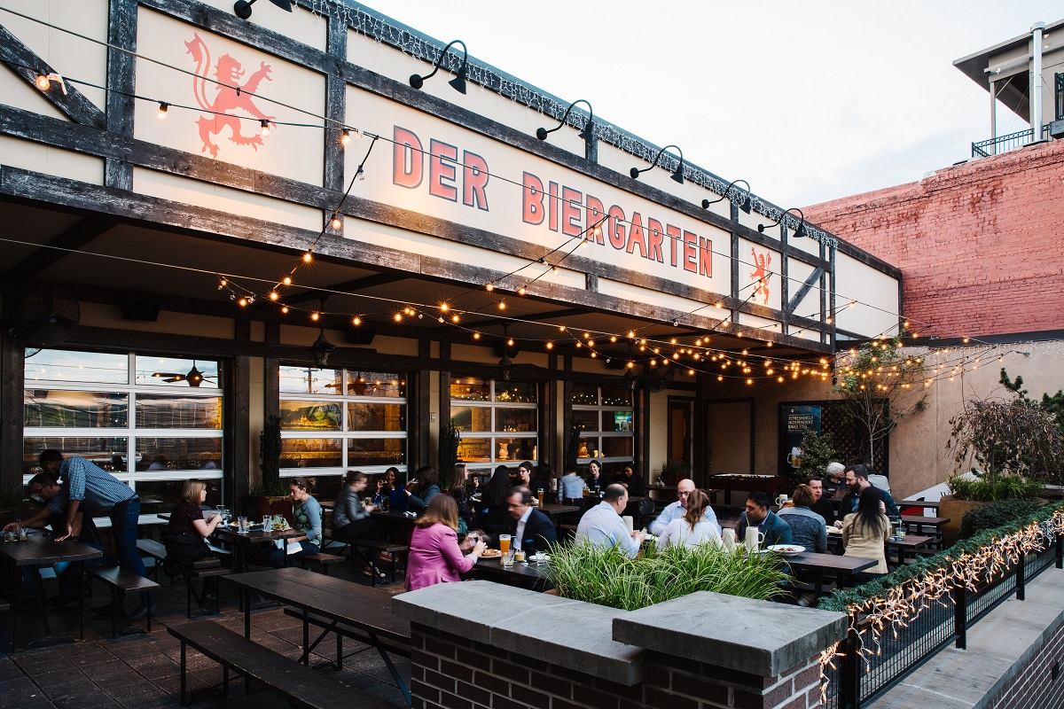 Beer Garten Der Biergarten Downtown Atlanta Ga