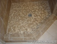 Shower Floor Tiles Ideas Images Photos