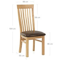 Orb Dining Chair White & Grey - Atlantic Shopping