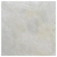 Ivory Tumbled Travertine Pavers 12x12 | Atlantic Stone Source