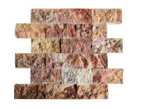 Scabas Split Face Travertine Mosaic Tiles 24 - Natural ...