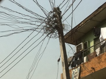 Tangle of NEPA wires