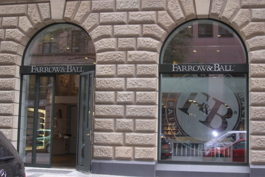 Showroom Farrow Ball Frankfurt Bund Deutscher - Farrow And Ball Frankfurt