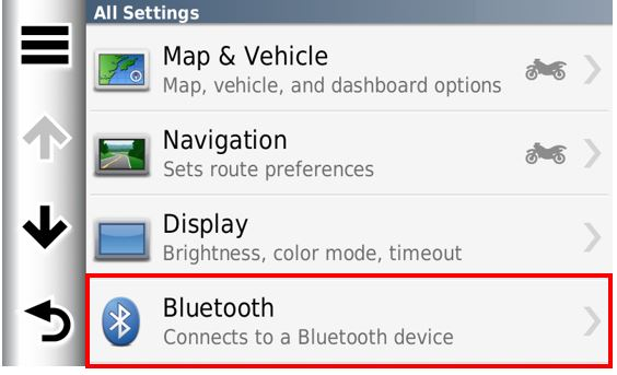Issues When Pairing BMW Motorrad Navigator V or VI with Bluetooth