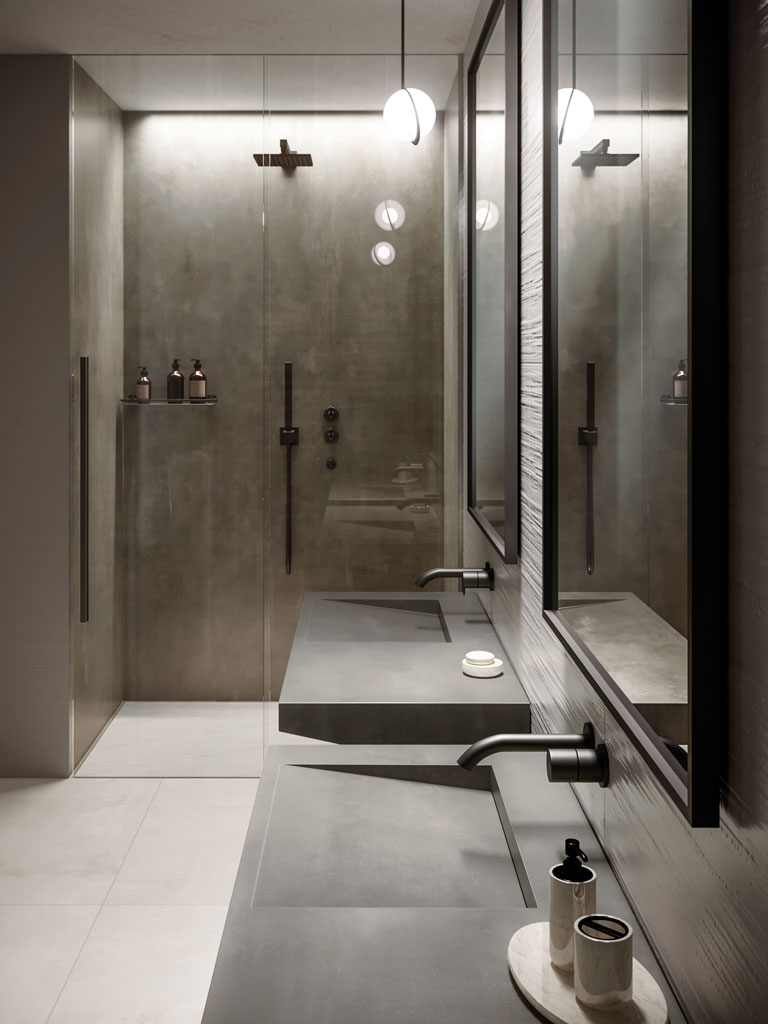 Bagno Design Guatemala Bathroom Porcelain Tiles Atlas Plan