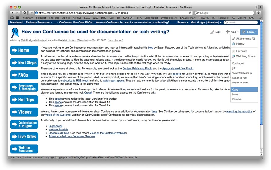 Creating A Faq Atlassian Blogconfluence Requirements Template Free