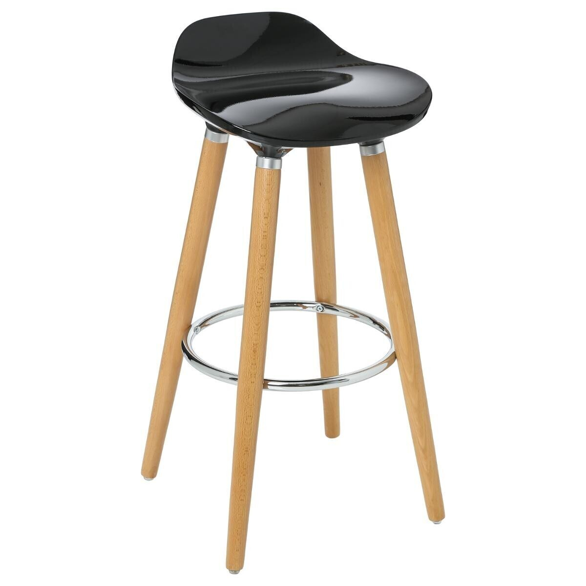 Tabouret Bar Bleu Canard Tabouret De Bar Noir Filel Atmosphera