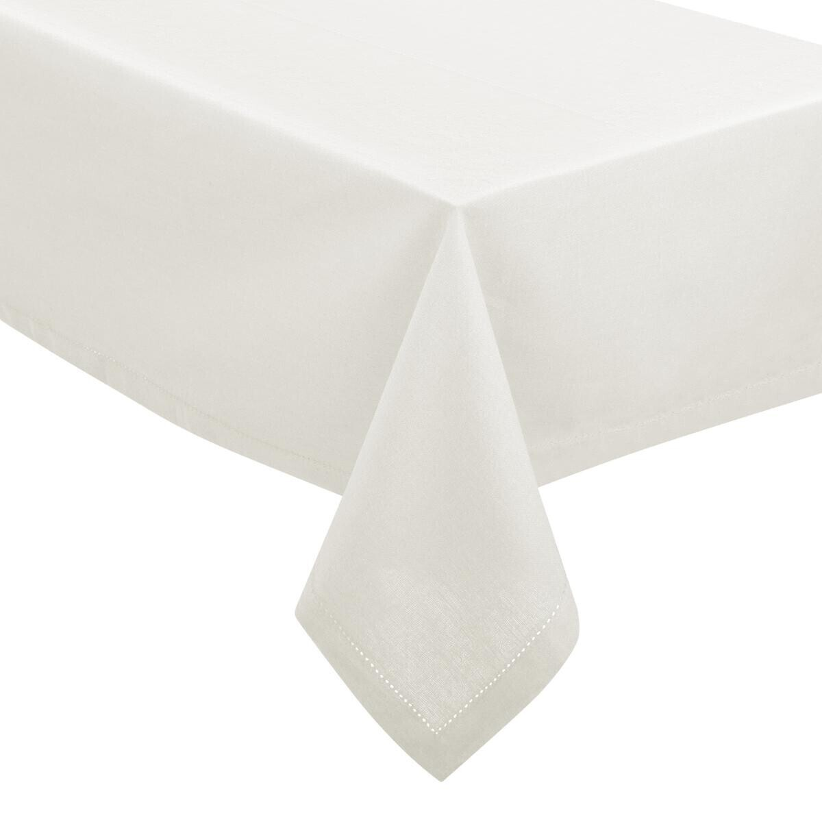 Nappe Blanche Tissu Nappe Blanche Chambray 140x240 En Cours
