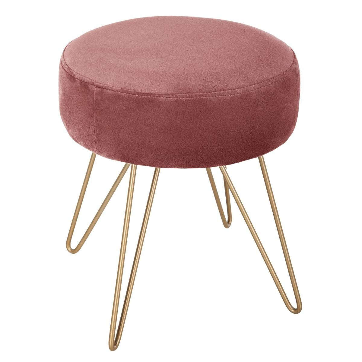 Tabouret Bar Rose Tabouret Rose En Métal Atmosphera